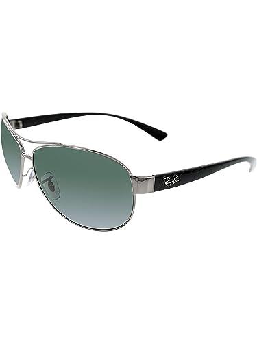 293932d70d Amazon.com  Ray Ban Sunglasses - RB3386 00471 Metal - Acetate Silver ...
