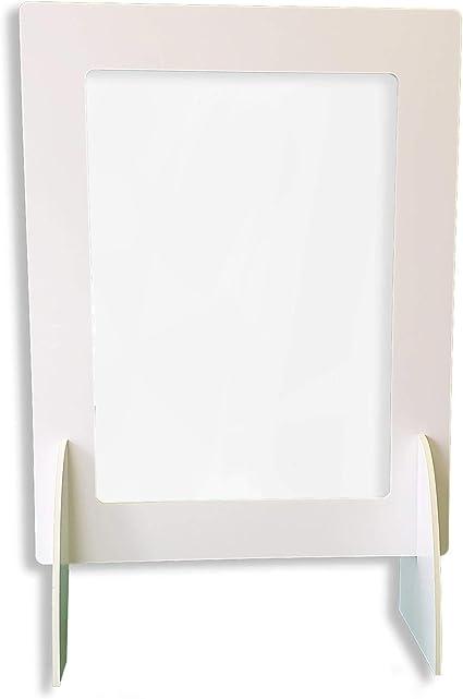 Pantalla Protección Mostrador 70x90cm - Fabricado en Foam 10mm y ...