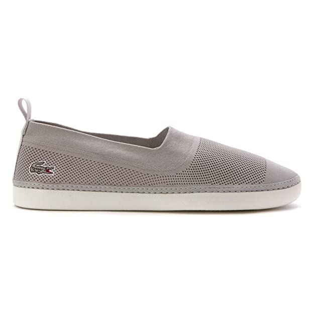 Amazon.com | Lacoste Mens L.ydro 216 1 Loafers Shoes Light Grey | Loafers & Slip-Ons
