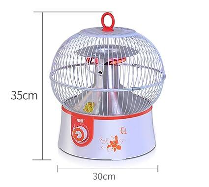 Calentador de Jaula de Pájaros, Calentador Eléctrico de Bajo Consumo, Calentador Eléctrico de Uso