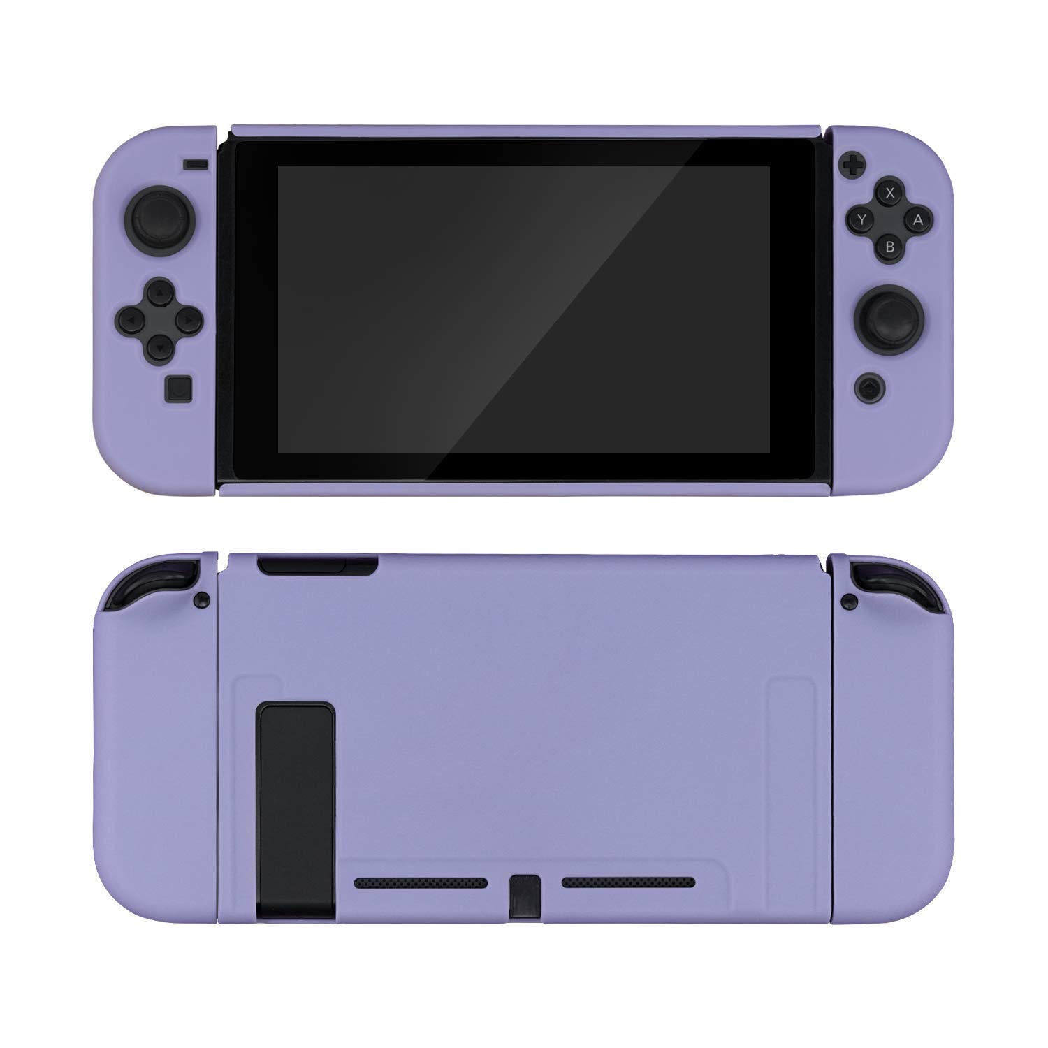 GeekShare Protective Case Slim Cover Case for Nintendo Switch and Joy Con - Shock-Absorption and Anti-Scratch (Grayish Purple)