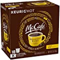 McCafe Breakfast Blend Light Roast Coffee, K-Cup Pods, 18 Counts (Pack of 2)