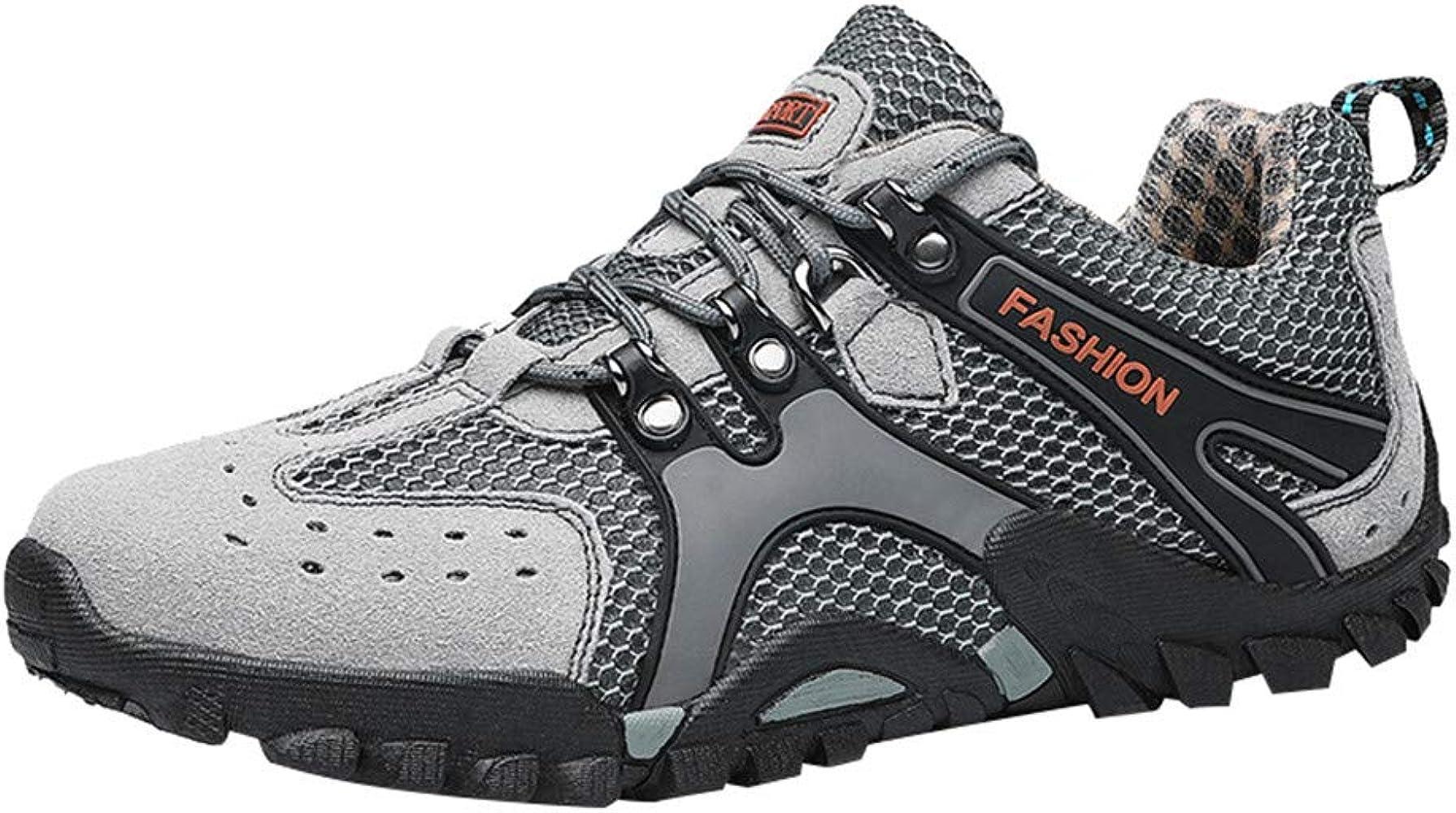 Hombre Zapatillas Deporte Realde Zapatos de Senderismo de Malla ...