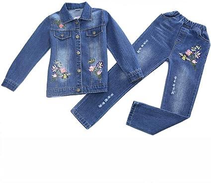 Conjuntos de ropa para niños, Conjuntos de mezclilla for niña ...