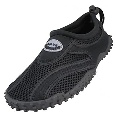Mens Wave Water Shoes - Black and Gray (10)