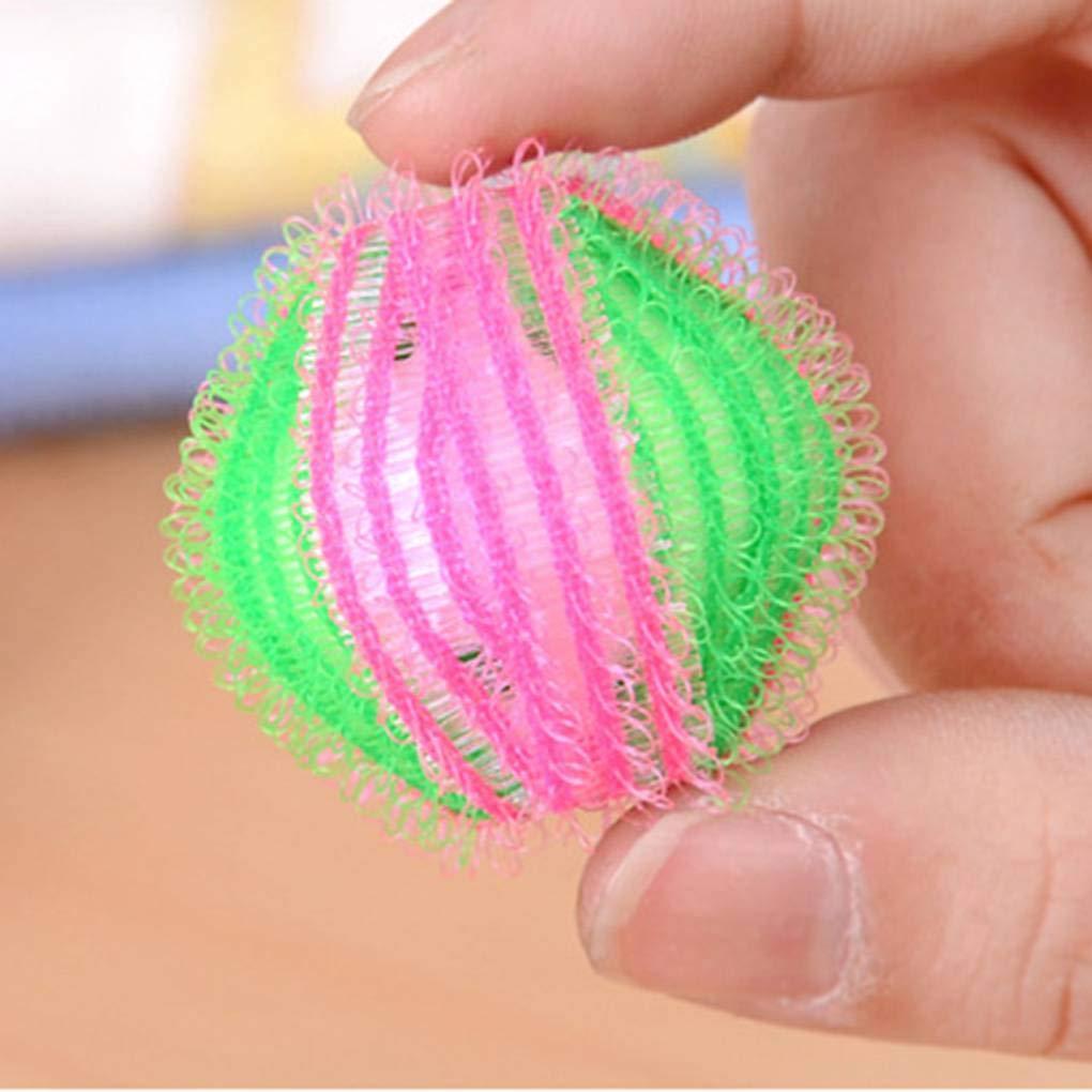 Zerama La eliminaci/ón aleatoria de Pelo Color Ropa de la Bola de lavander/ía Cuidado Personal Bola de Pelo Lavadora Bola de Limpieza