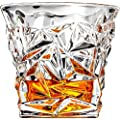 Luxury Crystal Clear Whiskey Glass on the Rocks Scotch Glasses or Bourbon Glasses in Gift Box
