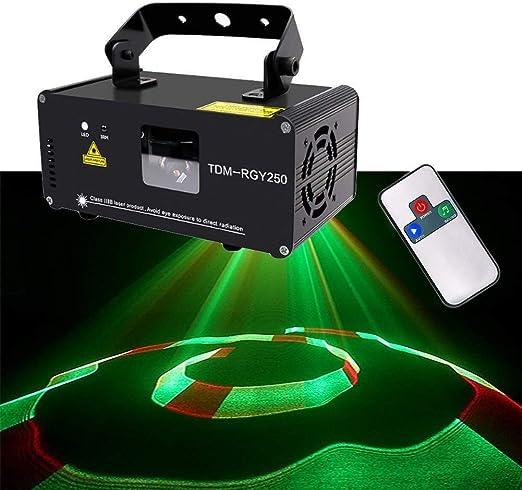 PPOSH El Partido Enciende Remoto Mini Etapa 3D Lámpara De ...