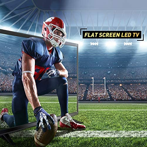 Myonaz LED HD TV 32 inch 720p Flat Screen TV HDMI USB with Energy Star (32-inch)