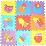 EVA Puzzle Matte, 10 Stücke Tier Muster Umweltschutz Rutschfestem Kinder-Spielmatte, Perfekte Geschenk-Idee Für Baby - Yves25Tate