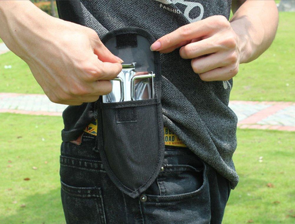 1085//5000 STAR SSTO Mini truelle pliante en m/étal r/ésistant /à la rouille Pelle portative pour les jardins Pelle outil de plantation Camping et randonn/ée Outils ext/érieurs Poches Shove
