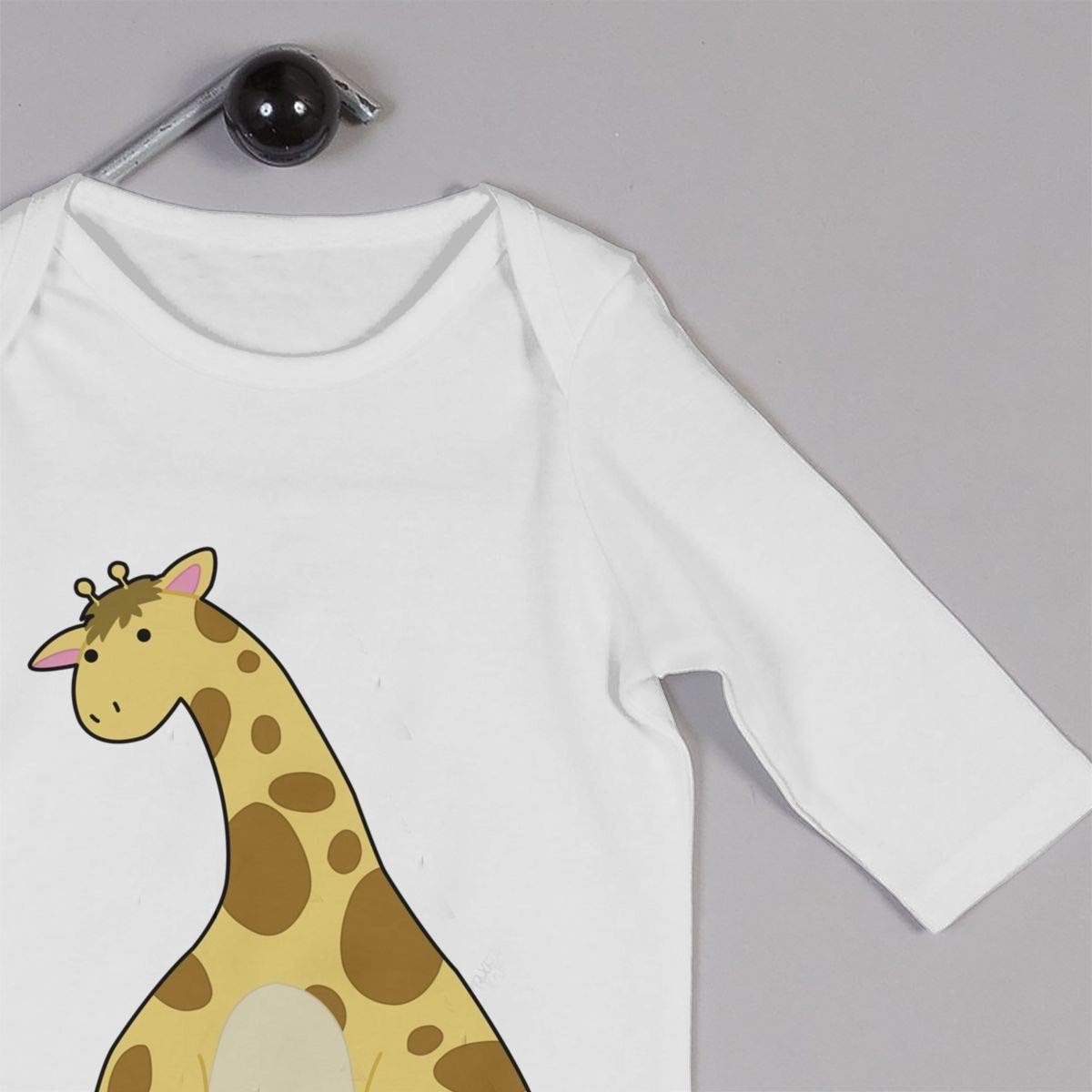 KAYERDELLE The Giraffe Long-Sleeve Unisex Baby Outfit for 6-24 Months Infant