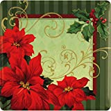 Best Sunday Inc Picnic Tables - Amscan Vintage Poinsettia Square Dessert Paper Plates Party Review
