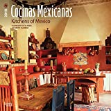 Cocinas Mexicanas, Kitchens of Mexico 2018 12 x 12 Inch Monthly Square Wall Calendar, Bilingual Spanish and English language (Spanish Edition)