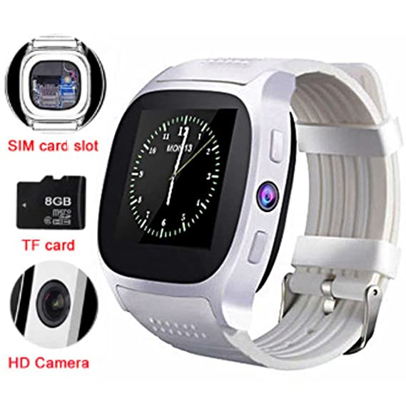 Amazon.com: TKSTAR Smart Watch,Bluetooth Smart Watch,With ...