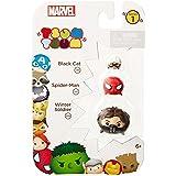 Tsum Tsum Marvel 3-Pack: Winter Soldier/Spiderman/Black Cat Toy Figure