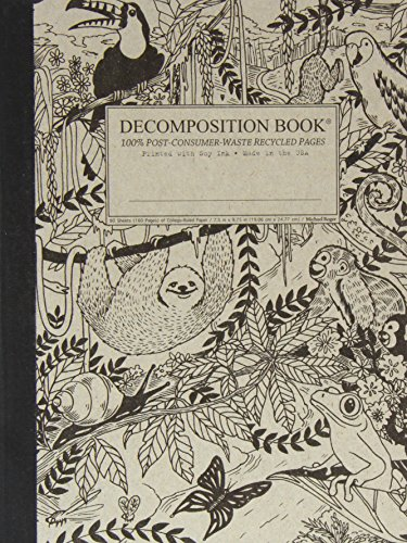 Michael Roger, Book Decomposition Rainforest, 1 Each -