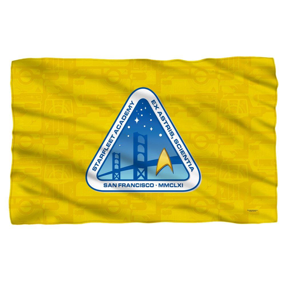 Fleece Throw Blanket Starfleet Academy Logo Star Trek 36 x 58