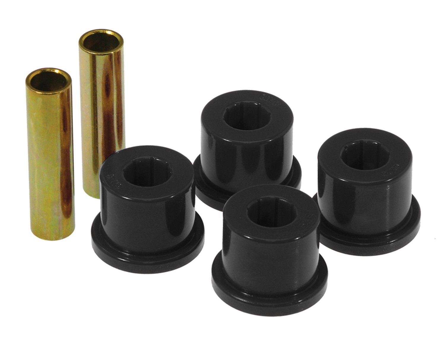 Prothane (7-807-BL) Frame Shackle Bushing Kit, Black