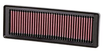 K&n 33-2931 High Performance Replacement Air Filter for Fiat Grande Punto:  Amazon.in: Car & Motorbike