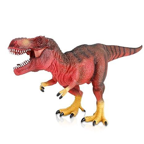 1x Tyrannosaurus Rex Dinosaurier Spielzeug Tiermodell Figur Kinder Bildungs