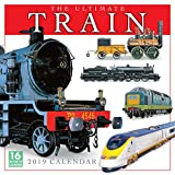 The Ultimate Train Calendar 2019 Wall Calendar, 12 x 12, (CA-0412)