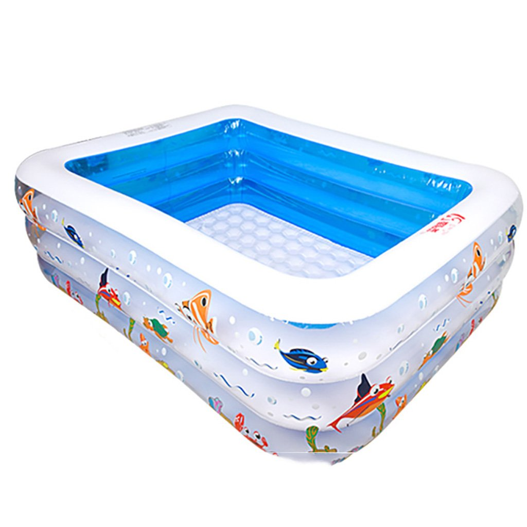 Innenbaby-Swimmingpool-Kind-Erwachsener Große Quadratische Eimer-Verdickung, Die Aufblasbare Hauptbadewannen-Kinder Der Kinder Erhöht (größe : 305cm)