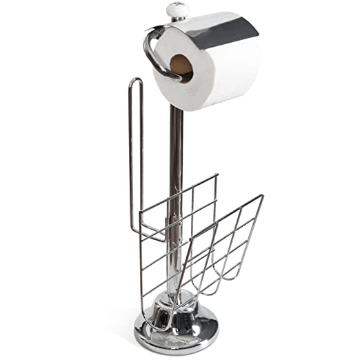 Amazoncom Toilet Paper Caddy Tissue Dispenser and Stand with