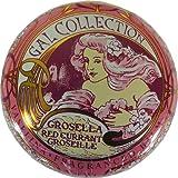 Red Currant Flavor Gal Spanish Lip Balm in Gold Art Nouveau Tin