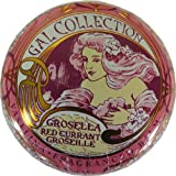 Red Currant Flavor Gal Spanish Lip Balm in Gold Art Nouveau Tin
