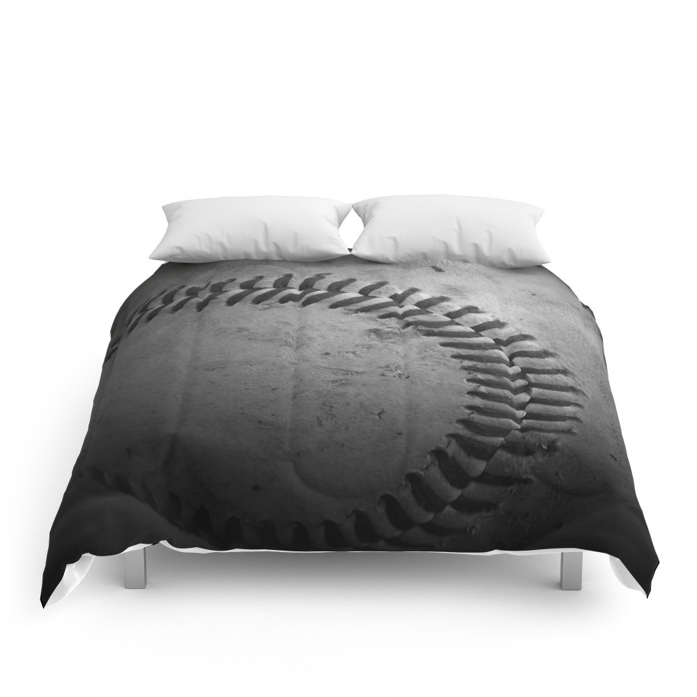 Society6 Baseball Comforters Queen: 88'' x 88'' by Society6