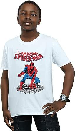 Marvel Universe Niños The Amazing Spider-Man Camiseta