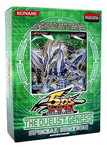YuGiOh GX CCG The Duelist Genesis Special Edition Pack [Toy] by Yu-Gi-Oh!