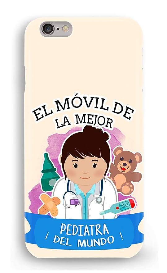 Funda Carcasa pediatra para Samsung Galaxy S6 Edge Plus plástico rígido