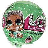 Ncient LOL Surprise Glitter Sfera con Mini Doll Giocattolo a Sorpresa Bambola, Modelli Assortiti, 1 Pezzo