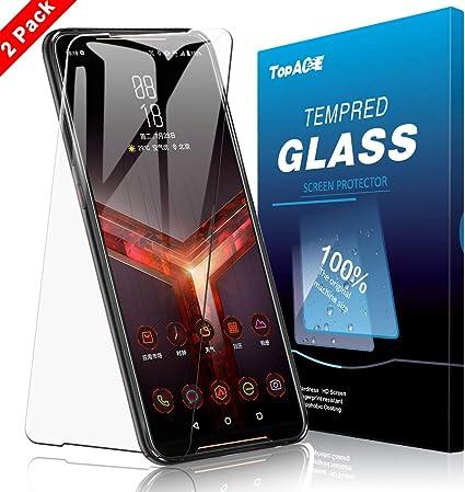 TopACE Protector de pantalla de cristal templado para Asus ROG ...