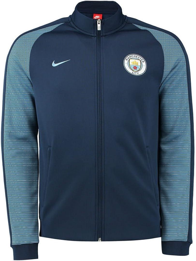 Nike MCFC Y NSW N98 TRK Jkt Aut Chaqueta Manchester City, Hombre ...