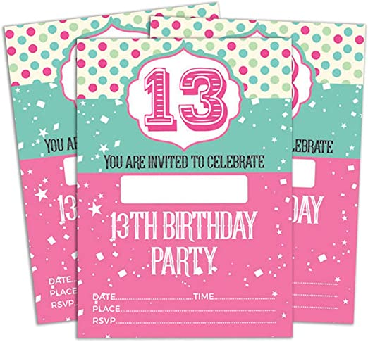 Groovy Amazon Com Darling Souvenir Multicolor Birthday Invitation Card Personalised Birthday Cards Paralily Jamesorg