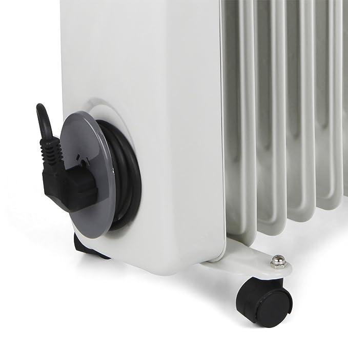 Orbegozo RA Radiador de Aceite, 2500 W de Potencia, construcción Modular de 11 Elementos y diseño en Color Blanco: Amazon.es: Hogar