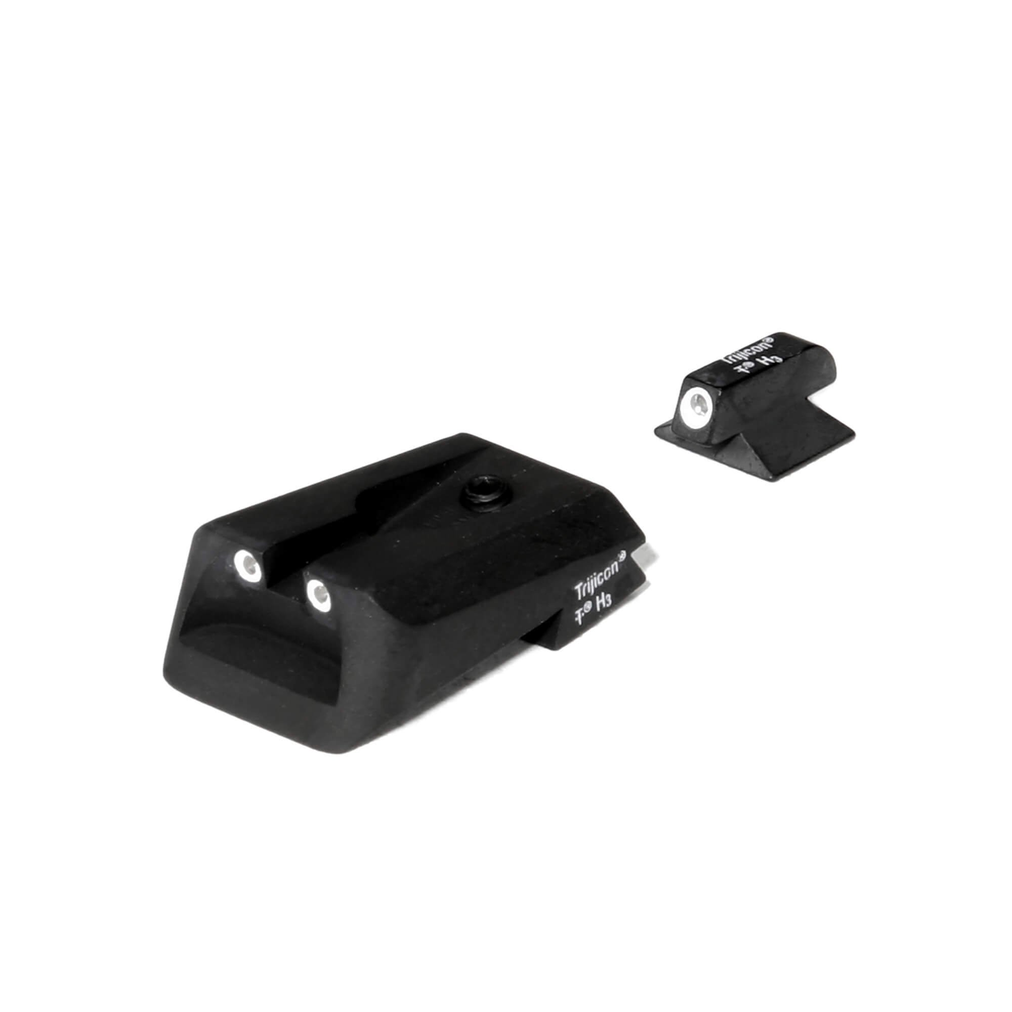 Trijicon 3 Dot Front And Rear Night Sight Set for Kimber by Trijicon