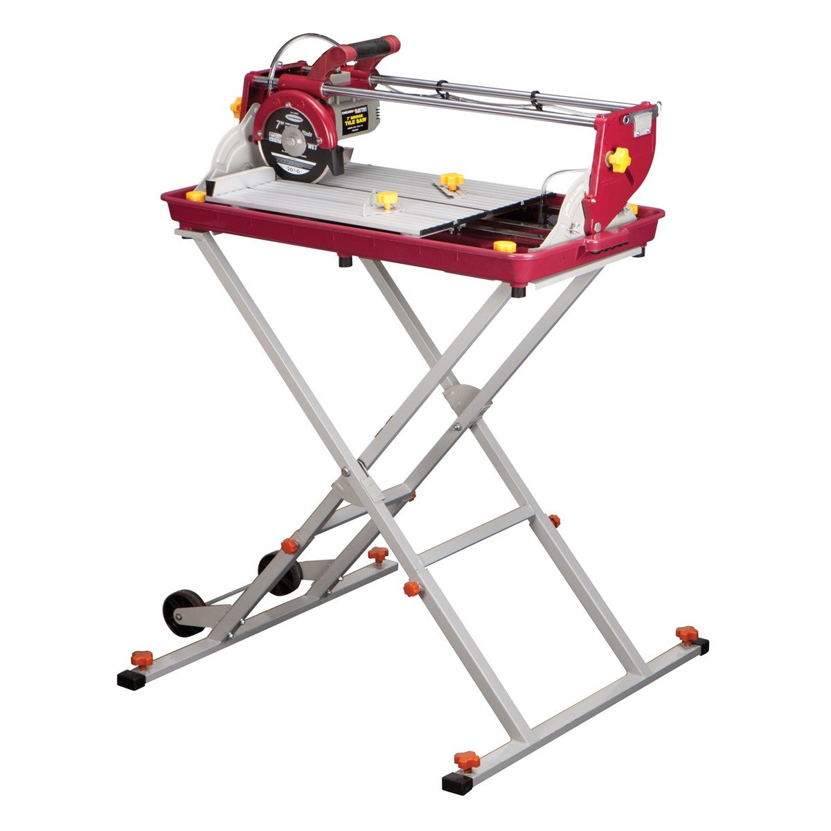 7 inch Bridge Tile Saw by Chicago Electric