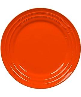 Amazon.com   Rachael Ray Dinnerware Double Ridge Salad Plate Set, 4 ...