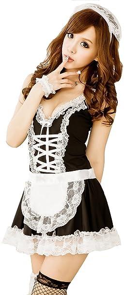 CCBunny N04 en ropa interior SIRVIENTE Lady de la Polinesia francesa Maid tamaño conjunto para niña