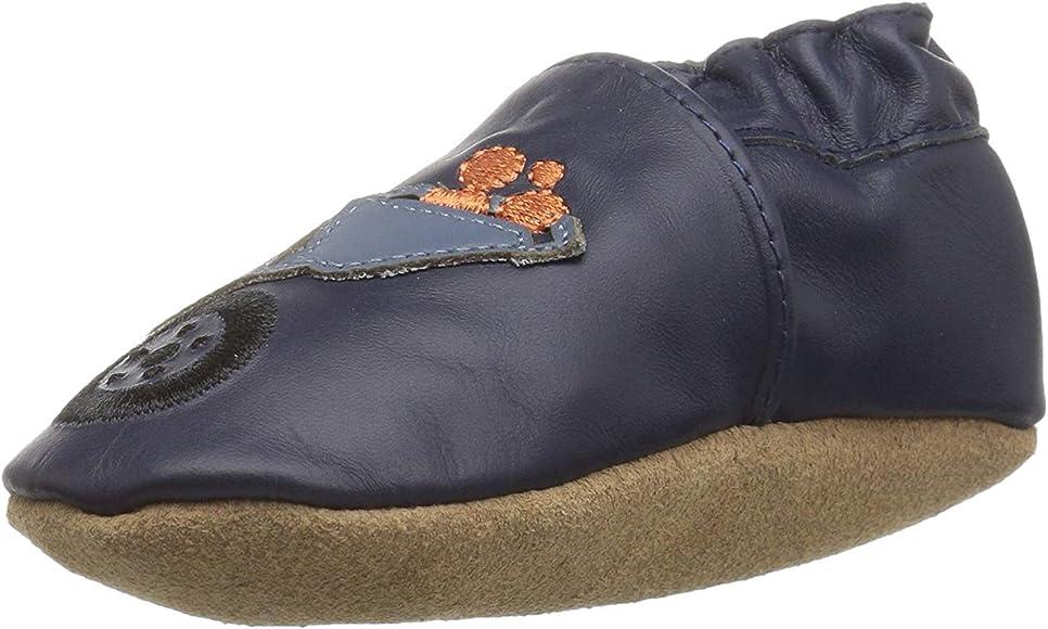 Robeez Boys' Elephant Eddie Crib Shoe