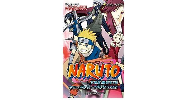 Naruto Anime Comic, ¡Batalla ninja en la tierra de la nieve ...