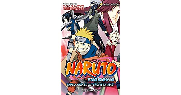 Amazon.com: Naruto Anime Comic, ¡Batalla ninja en la tierra ...