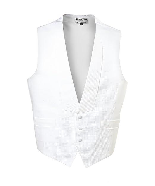 Amazon.com: UniformTux Mens 3 Button Full Back Vest & Bow ...