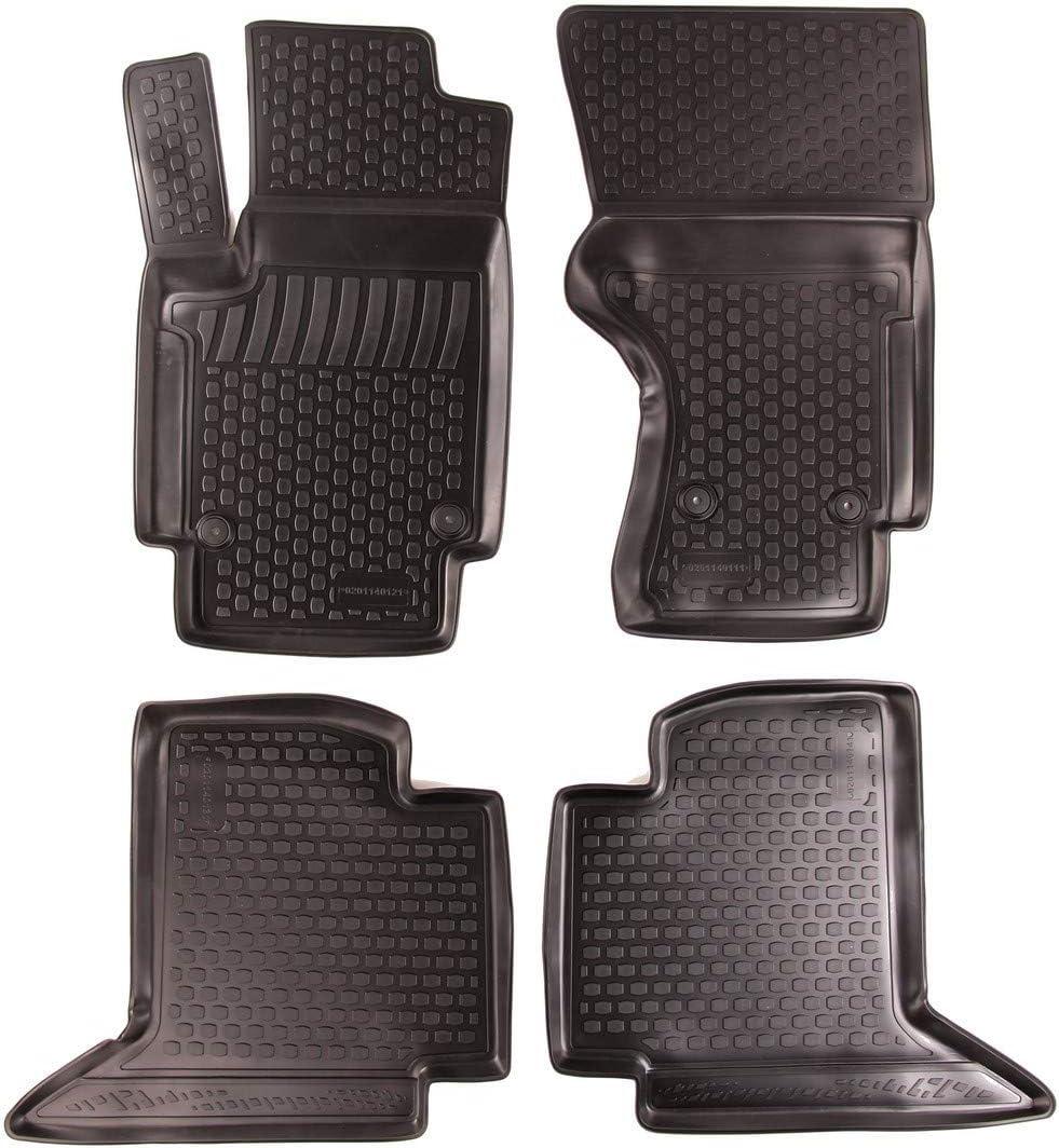 Impermeabili Compatibilit/à Perfetta Tappetini in Gomma 3D Antiscivolo SIXTOL Set tappeti Auto per Volkswagen Amarok 4 Pezzi Resistenti