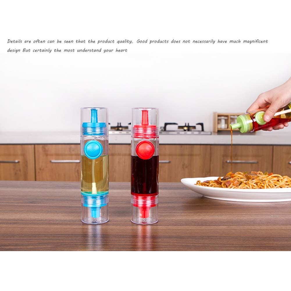 Tempshop 1pc 2 en 1 profesión cocina aceite vinagre dispensador botella pulverizador: Amazon.es: Hogar