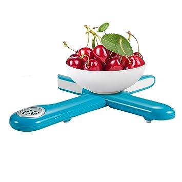 Camry Báscula Digital de Cocina Plegable,Balanza Electrónica para Cocinar,Mini Balanza para Alimentos